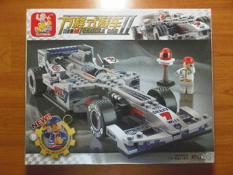 Gansatoy lego sluban M38-B0352 formula car II 1:24Rcaing CarSliver Arrow 257pcs gnz 1765