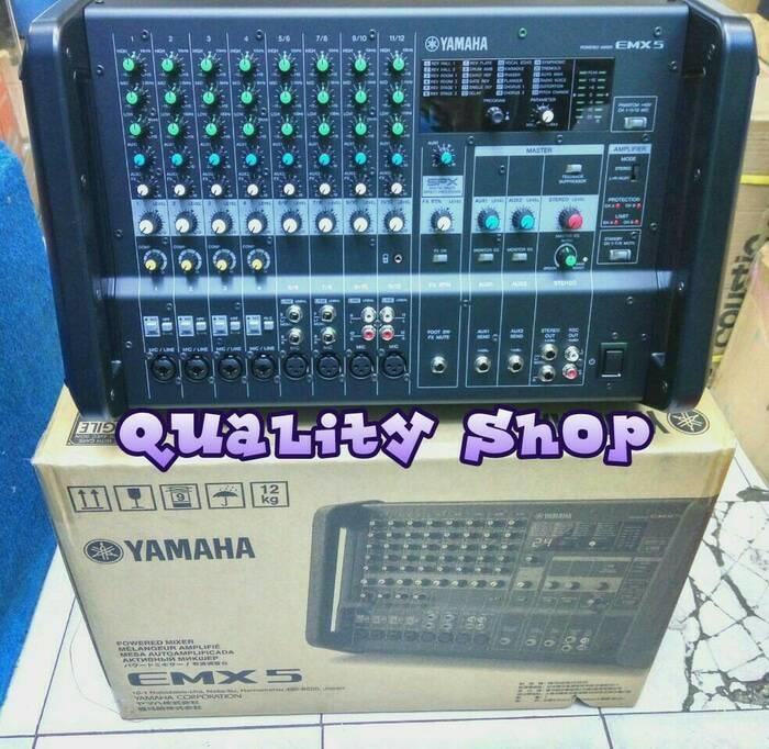 ORIGINALS  power mixer Yamaha emx-5 12 channel ORIGINALS