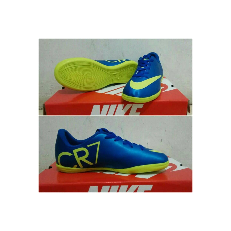 LIMITES Sepatu futsal anak nike cr7 navy list stabilo sepatu sandal p