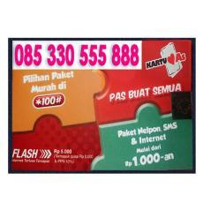 Perdana Cantik Perdana as 555888 Nomor Bagus 888 kartu as 330 555888