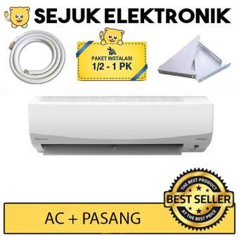 Pencari Harga Daikin FTKC15PVM4 AC Split 1/2 PK Smile Inverter - Putih + installasi (Free Ongkir JAKARTA) terbaik murah - Hanya Rp3.898.800