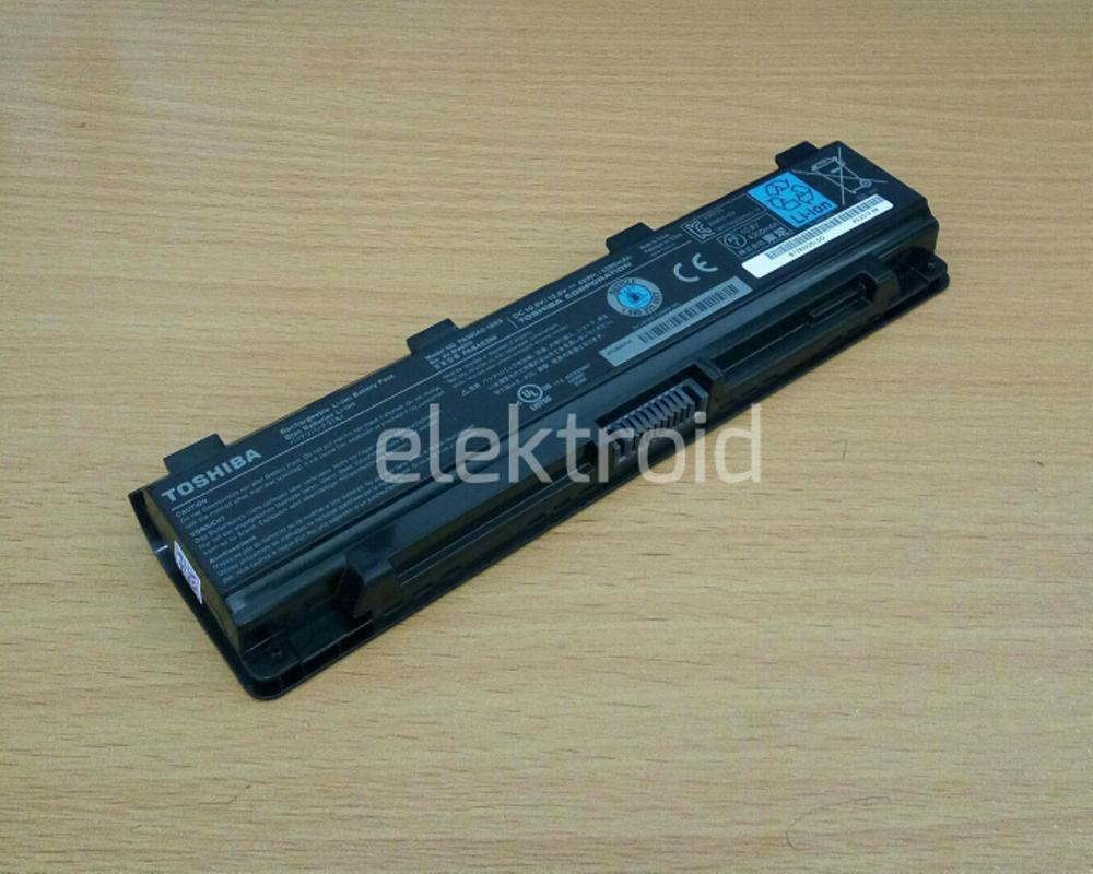 Baterai Toshiba Original Satellite Pro C800 C805 C840 C845 C850  C855 C870 C875 L800 L805 L830 L835 L840 L845 PA5024U di lapak elektroid elektroid