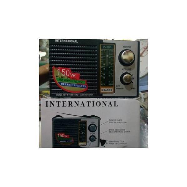 Termurah Radio International Jadul 3 Band AM-FM-SW model jadul speaker aktif / speaker laptop / speaker super bass