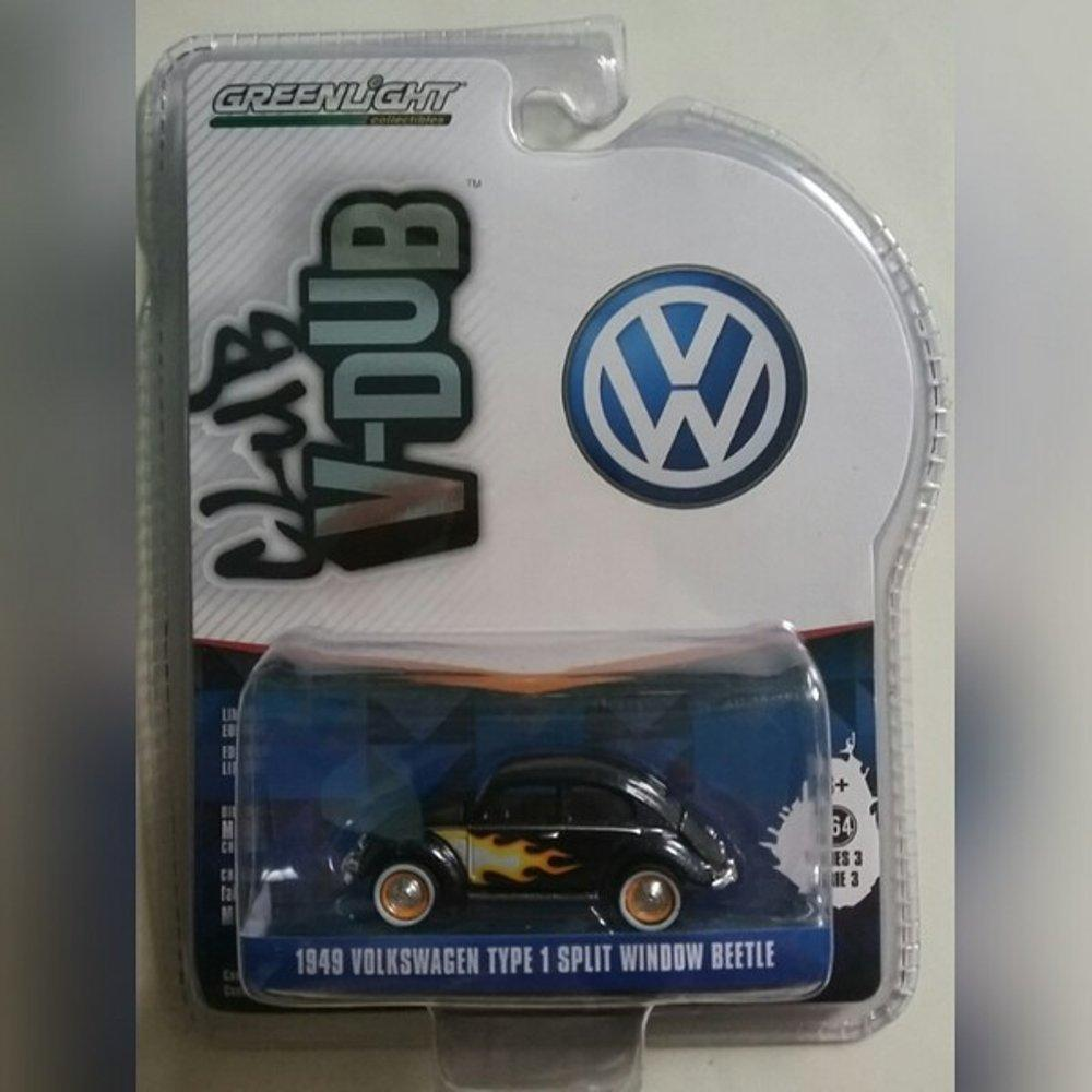 Diecast Volkswagen 1949 Type 1 Split Window Beetle