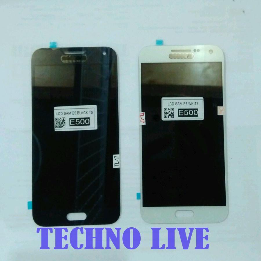Beli Lcd Samsung E5 E500 Full Touch Screen Hitam Genzatronik Harga