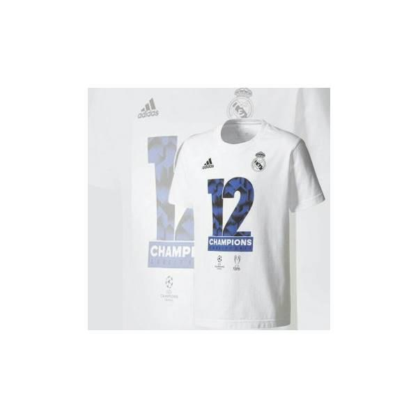 Kaos Baju A Por La 12 Real Madrid Jersey Bola Final Champion League
