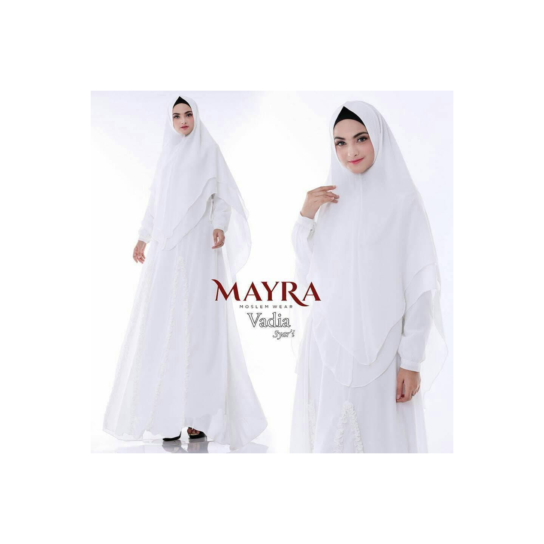 New edition syari mayra virna white
