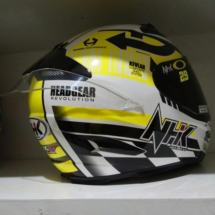 helm kyt / helm bogo / helm full face / helm ink / helm sepeda /helm motor/helm nhk/helm retro/helm anak/helm gm spoiler RX9 clear