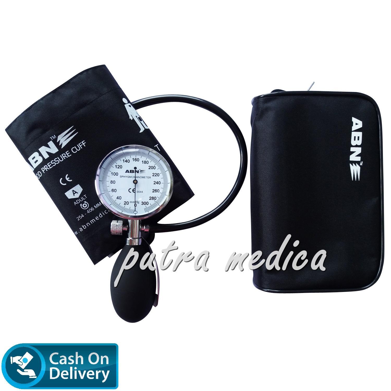 Jual Produk Alat Kesehatan Abn Terlengkap Ukur Tensi Darah Blood Pressure Monitor Tensimeter Putra Medica Palm Aneroid 1 Selang Jarum Profesional Berkualitas