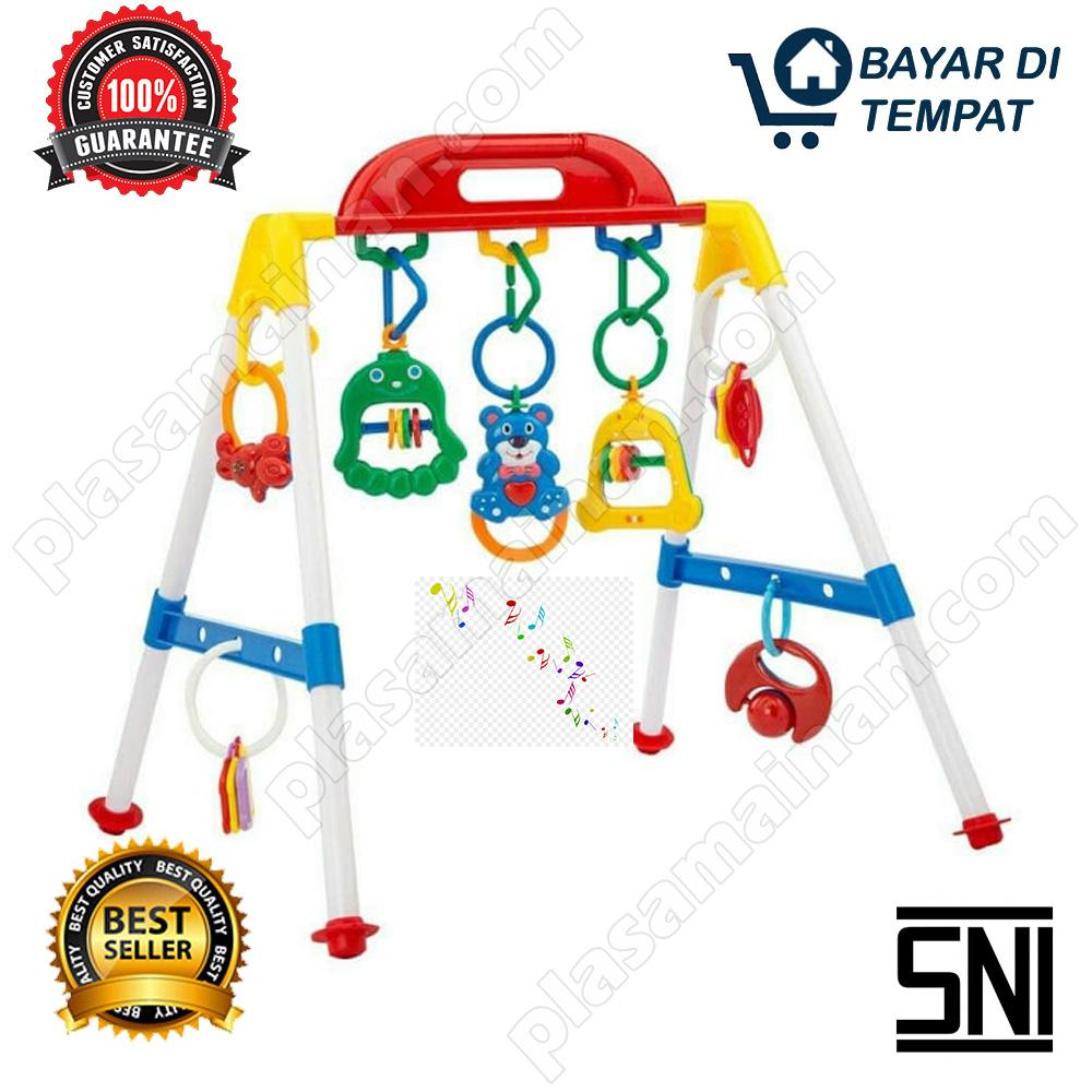 Momo Play Gym Musical Baby Activity Rattle