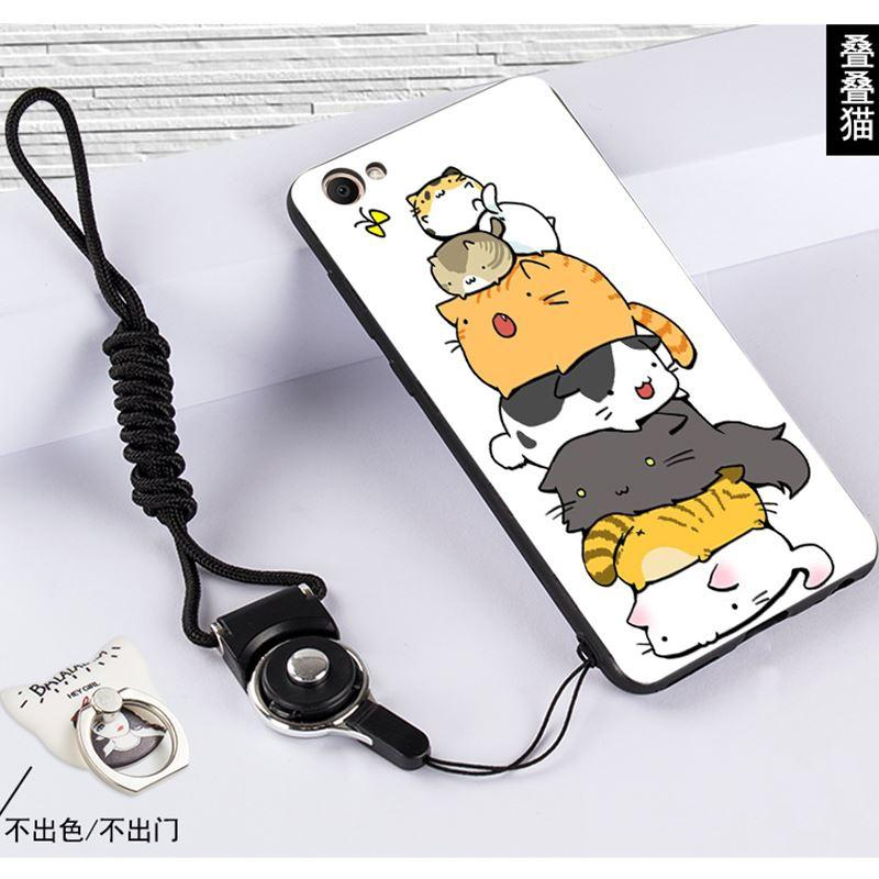Selubung Ponsel Vivox5pro Selubung Viv0x5prol/V1vox5pr0 Halter Leher Lembut Bungkus Penuh