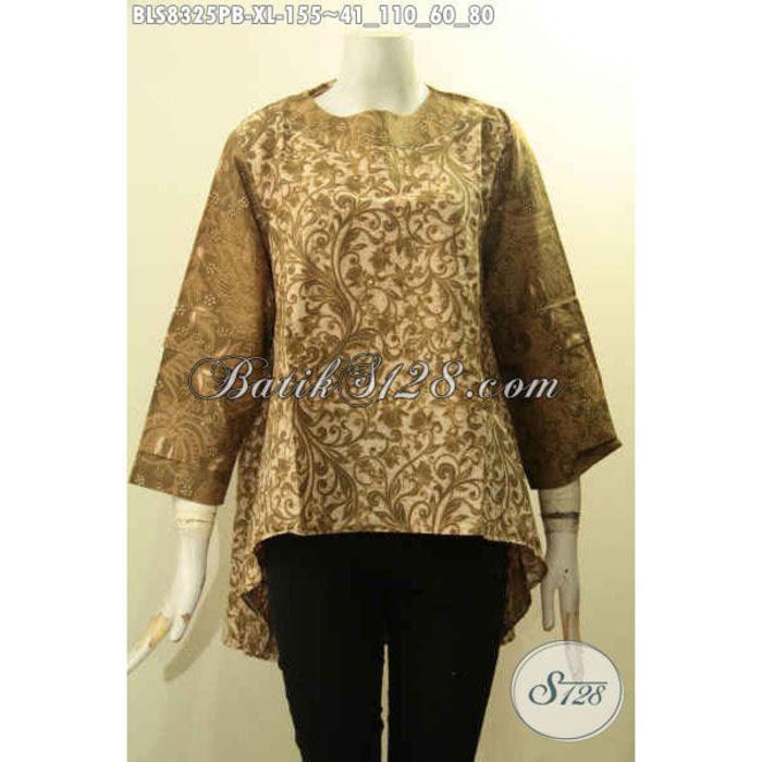 Baju Batik Kerja Wanita Karier Size XL BLS8325PB