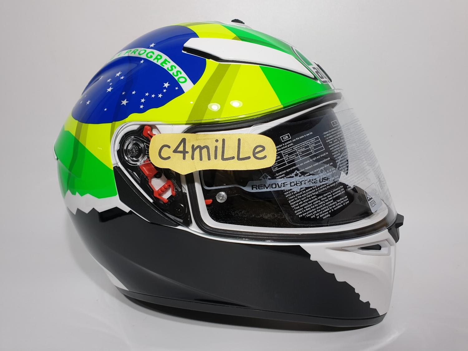 HELM AGV K3 SV REP MORBIDELLI 2017 DOUBLE VISOR FULL FACE SIZE L