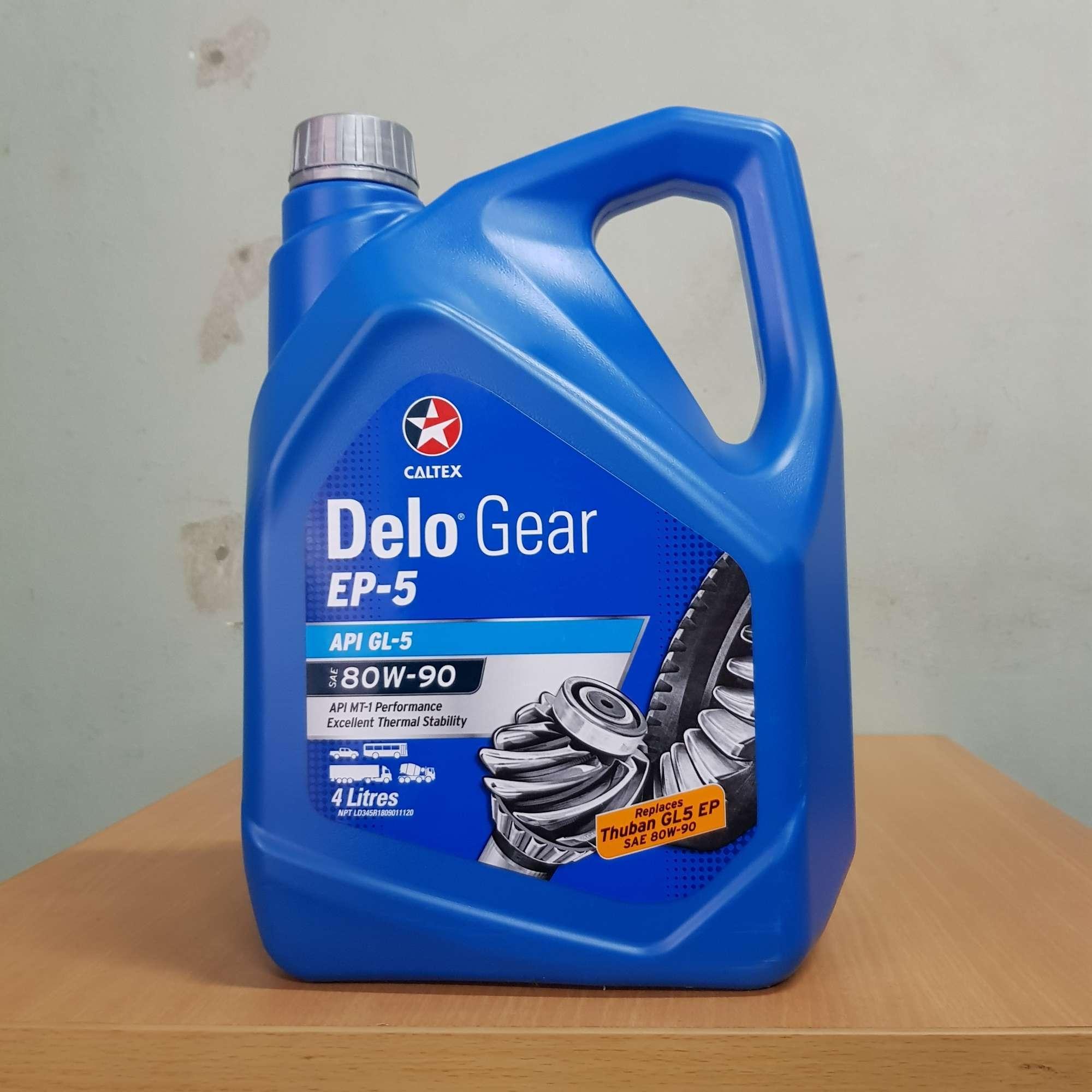 Caltex Delo Gear GL5 80W 90 4L