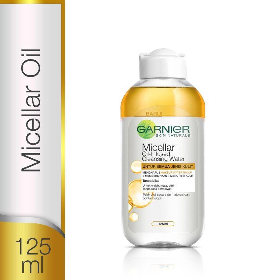 Garnier Micellar Oil-Infused cleansing Water 125ml