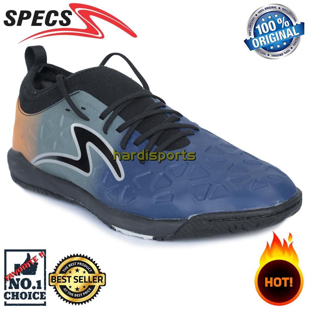 Sepatu Futsal Pria Specs Swervo Inertia IN 400703 - Blue Orange