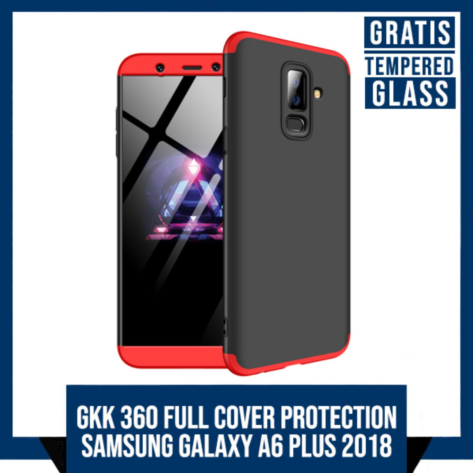 CASE SAMSUNG GALAXY A6 PLUS 2018 GKK ORIGINAL FULL COVER 360 PROTECTION