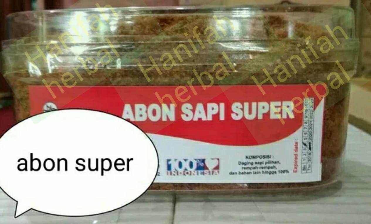 Abon Sapi Super Orginal Gurih . Lezat - 400 gram