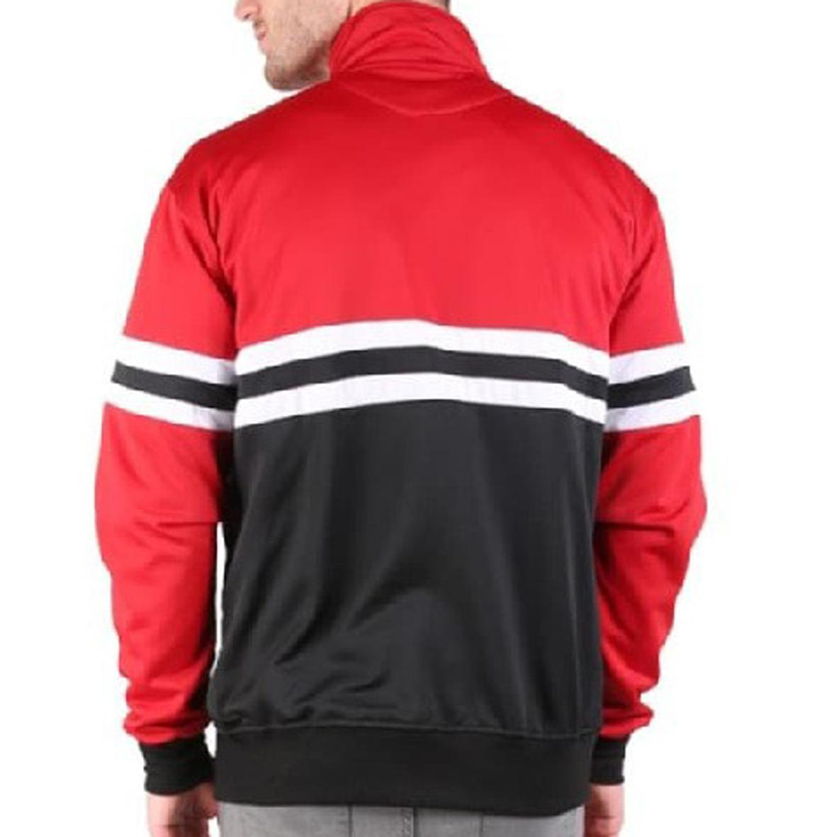 REYJaket Pria Tracktop Casual Ultras Premium Best Seller red black