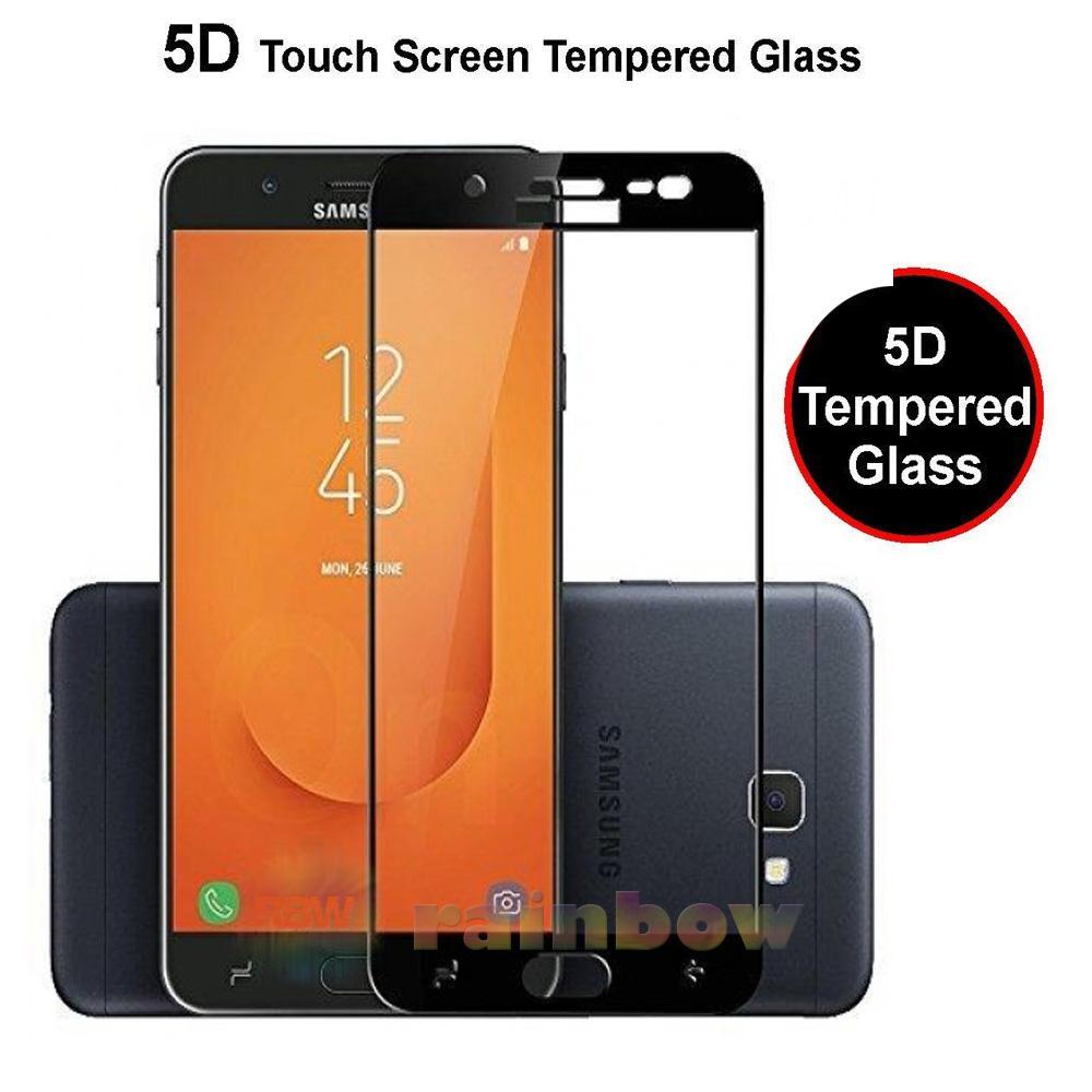 Rainbow Tempered Glass Samsung Galaxy J7 Prime 2 2018 Full Screen Protector Samsung J7 Prime 2 2018 Black Temper Samsung J7 Prime 2 2018 / Temper Glass Full Layar / Pelindung Layar / Anti Gores Kaca / Temper Glass Samsung J7 Prime 2 2018 - Hitam
