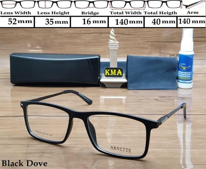 Frame kacamata minus ARNETTE  frame minus kotak classic retro vintage