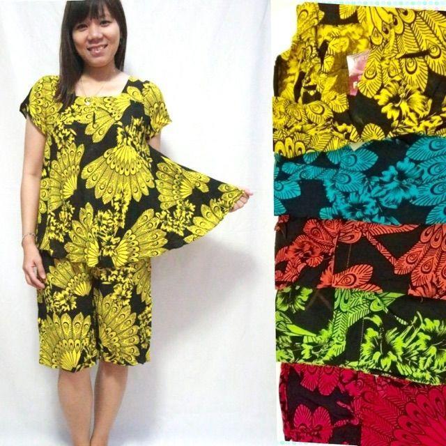 Baju tidur batik payung dewasa bahan bagus adem bisa grosir n eceran
