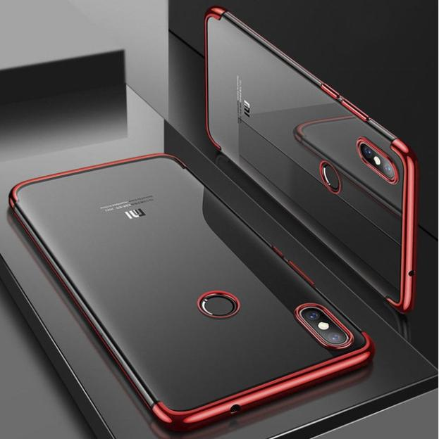 Cover Paradise Xiaomi Redmi Note 5 / Note 5 Pro Shiny Electro Plating Clear Chrome Soft Case 1032 / case xiaomi redmi note 5 pro /soft case xiaomi redmi note 5 /case hp xiaomi redmi note 5 /case hp xiaomi redmi note 5 pro /flip case xiaomi redmi note 5