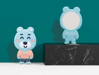 Pelacakan Harga Cermin Kecil Kaca Dandan Rias Karakter Kosmetik Mirror Lucu - Beruang Biru periksa peringkat - Hanya Rp14.030