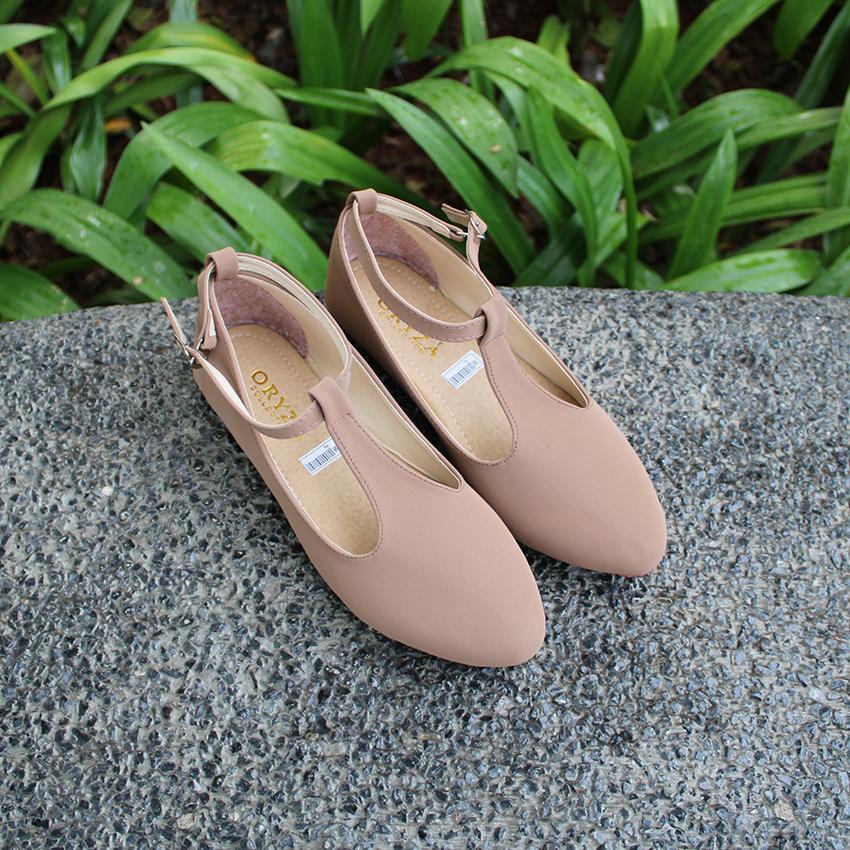 Oryza Sepatu Flat Shoes CRB-55