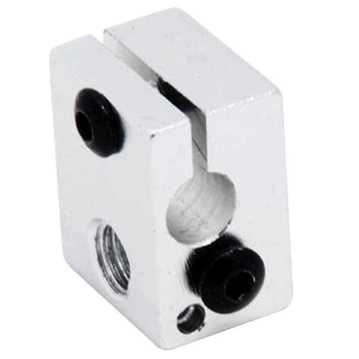 TERBARU Pelindung Printer Murah Heat Block for V5 V6 J-Head 3D Printer Parts - B0020 Terlaris