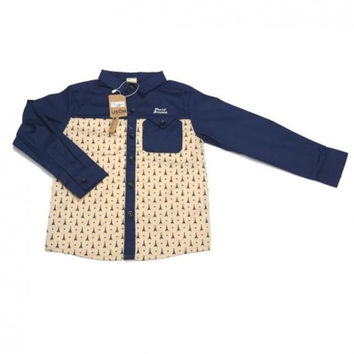 Jual Pakaian Anak Eiffel Dotty Shirt   Navy Limited