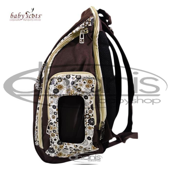 Tas Bayi Baby Scots Platinum MB021- Dhanis Baby Shop Toko Online Perlengkapan Bayi Murah