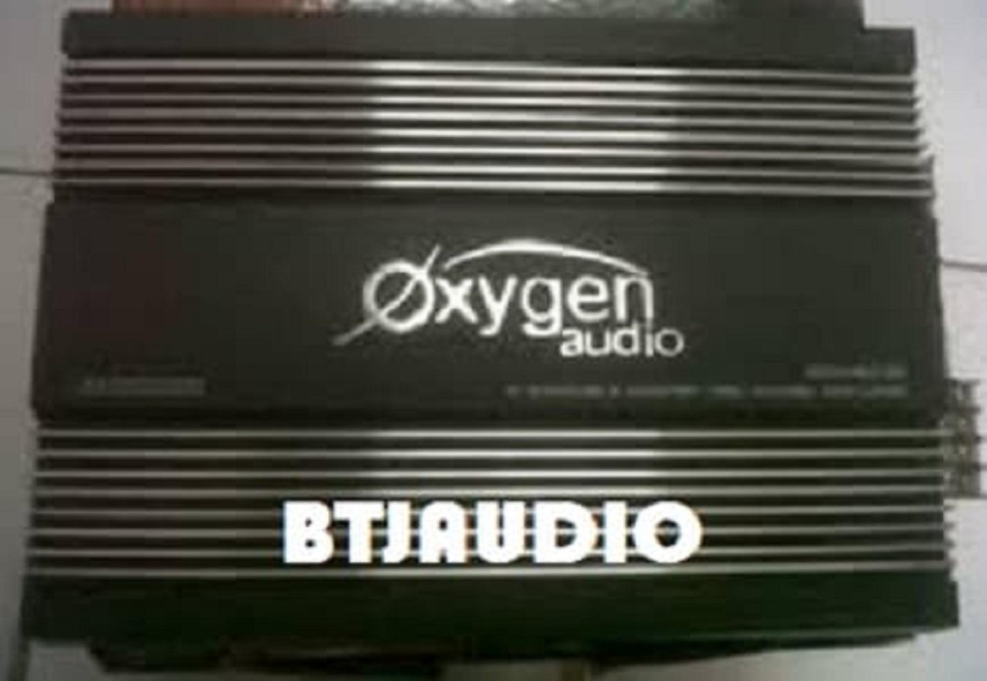Best Seller POWER 4CH MERK OXYGEN (KONDISI 100% BARU)