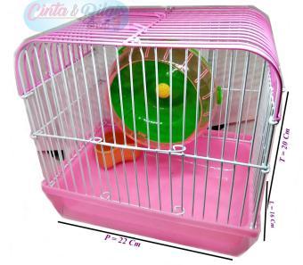 Pencarian Termurah KANDANG HAMSTER - PINK harga penawaran - Hanya Rp40.689