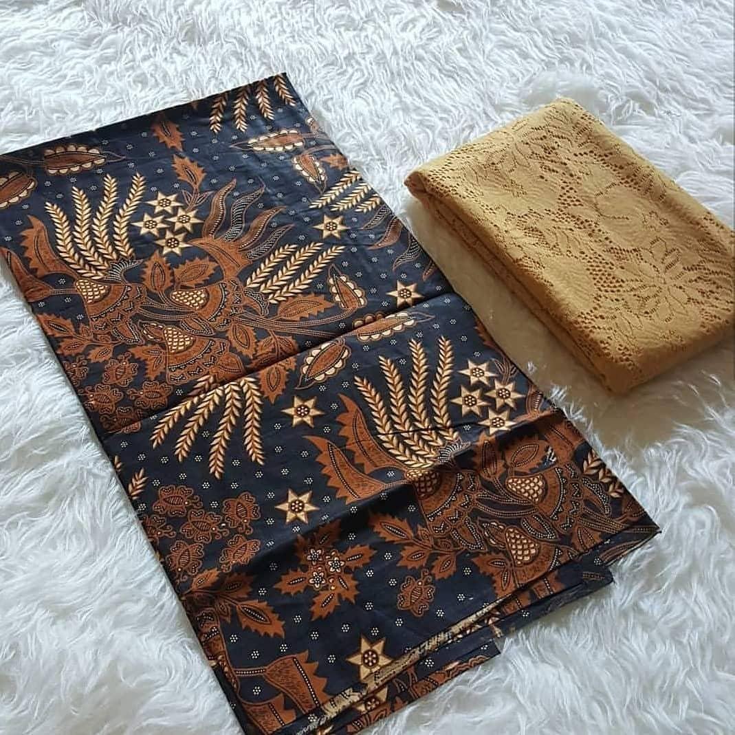 5a08151a55b063bafebb61667eedc143 Review List Harga Model Gaun Muslim Batik Kombinasi Brokat Terbaik waktu ini