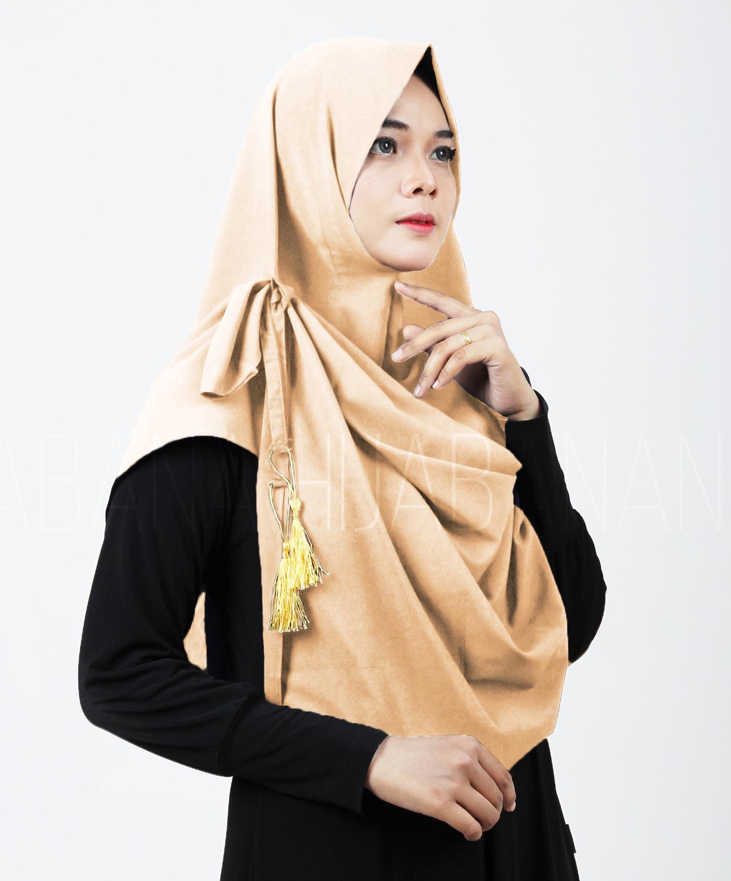 Kerudung Instan Jilbab Instan Kerudung Khimar Vania Tassel Syal Pashmina Instan Pastan Hijab Instan