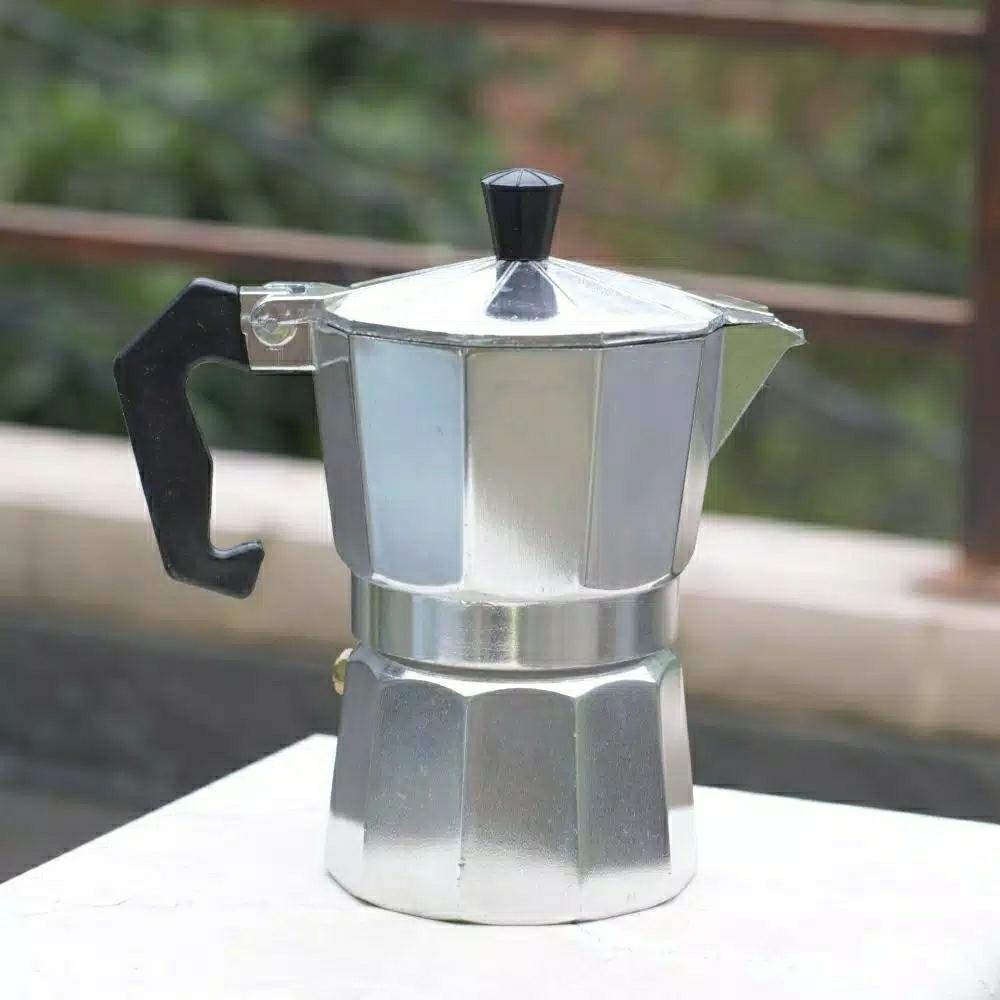 Mokapot 3 Cups Alat Seduh Kopi Espresso Coffee Maker