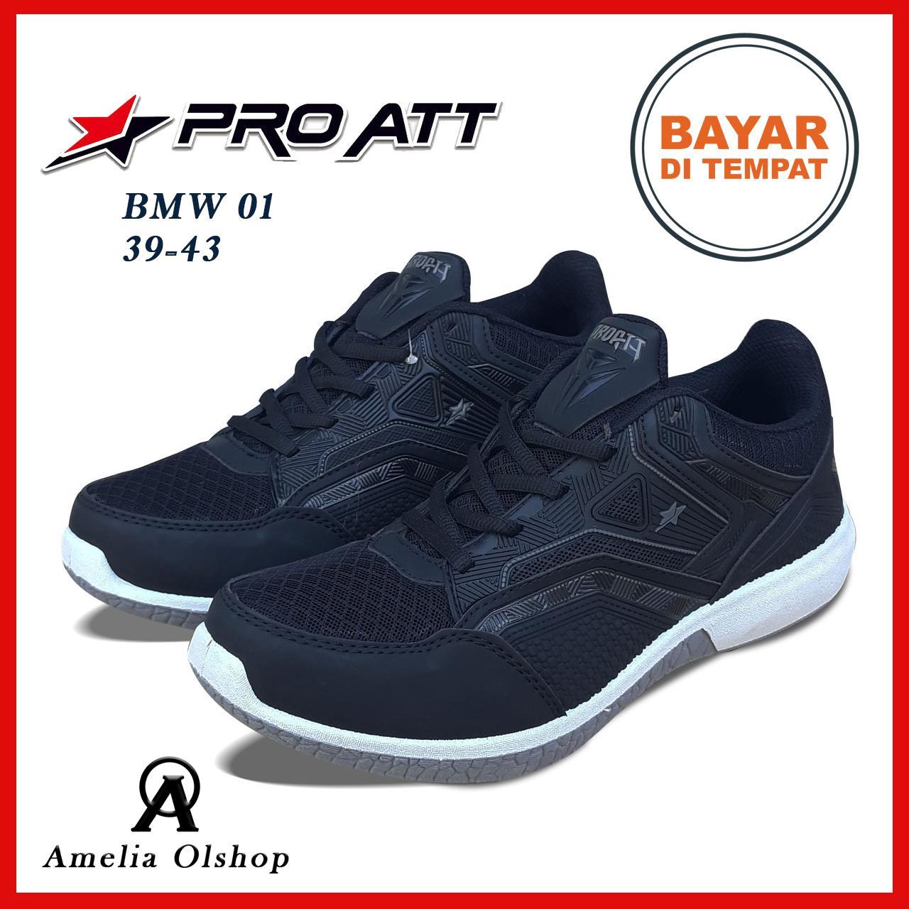 Amelia Olshop - Sepatu PRO ATT BMW 02 39-43   Sepatu Hitam   Sepatu 582c4b13a9