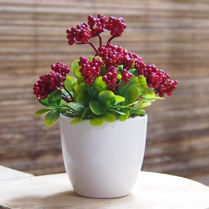 Bunga Hiasan Meja Dan Rumah Dekorasi Artificial Rangkai Art257md28