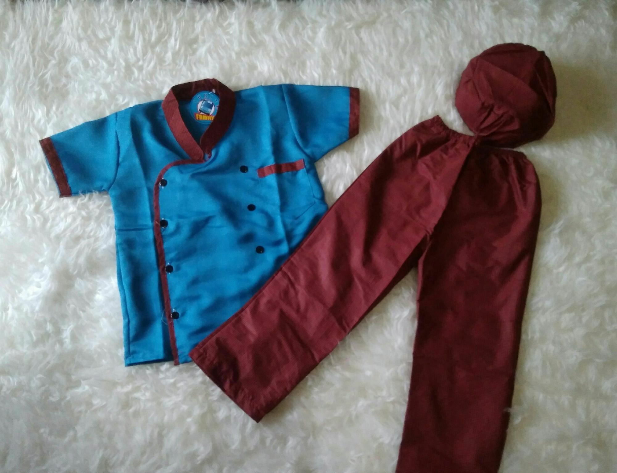 Kokici - Koko Model baju Koki - Celana - Peci - Koko Anak - Baju muslim