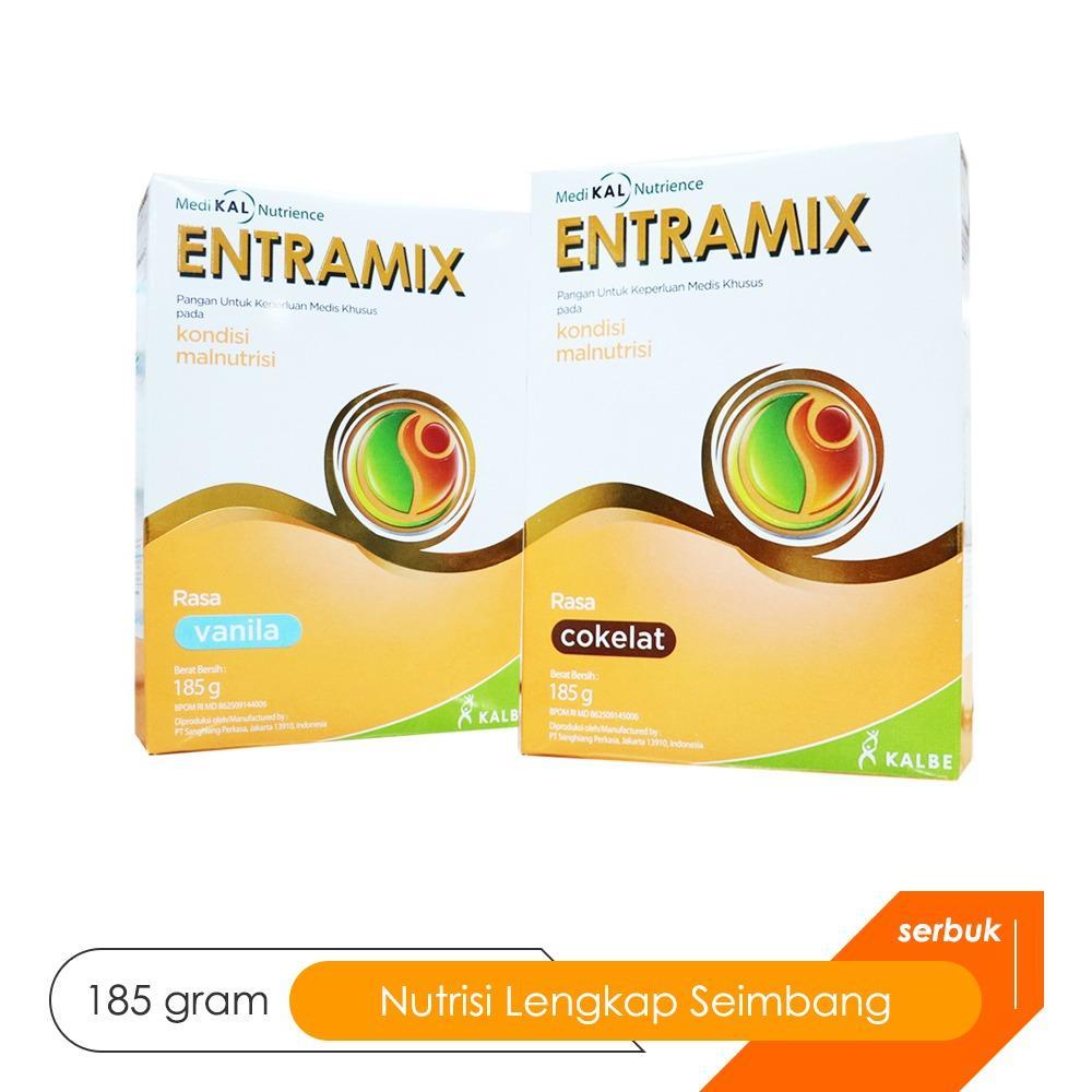 Entramix Cokelat 185 gram - Nutrisi Tepat Seimbang untuk Dewasa