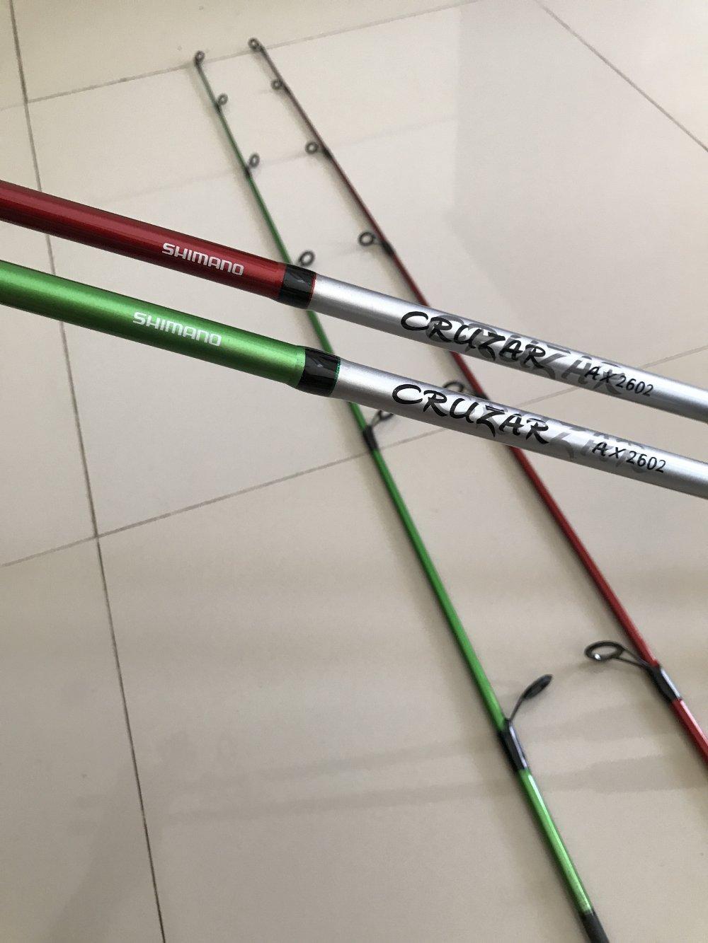 Joran Shimano cruzar carbon 180 cm Original  TERBARU BOS PANCING zerya_fishing
