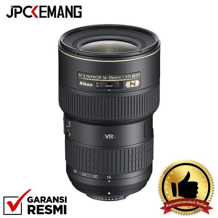 Nikon AF-S 16-35mm f/4G VR ED N jpckemang GARANSI RESMI