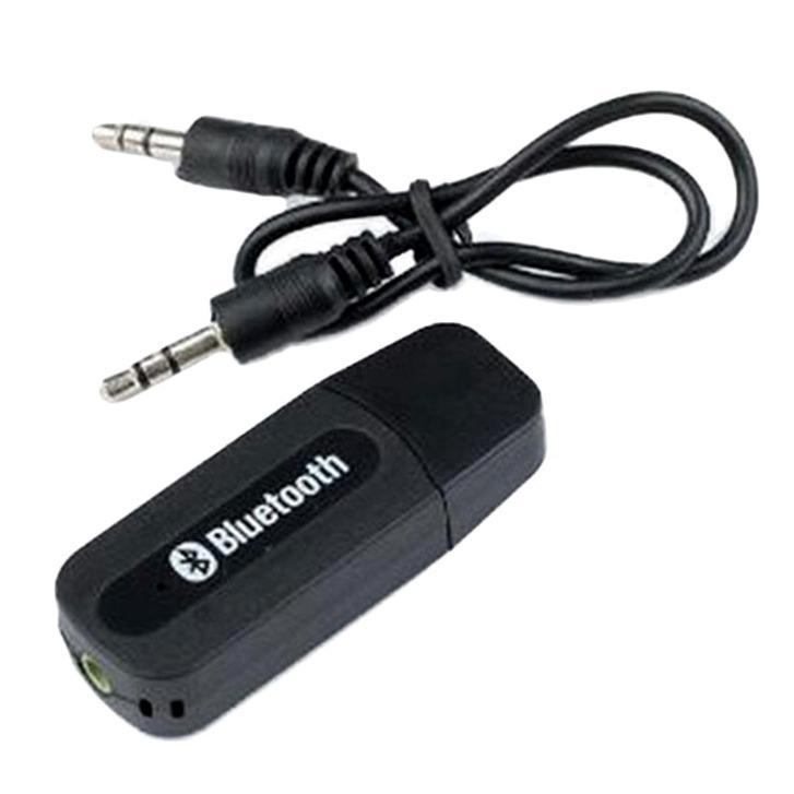 Bluetooth Audio Dongle USB Music Receiver Hitam