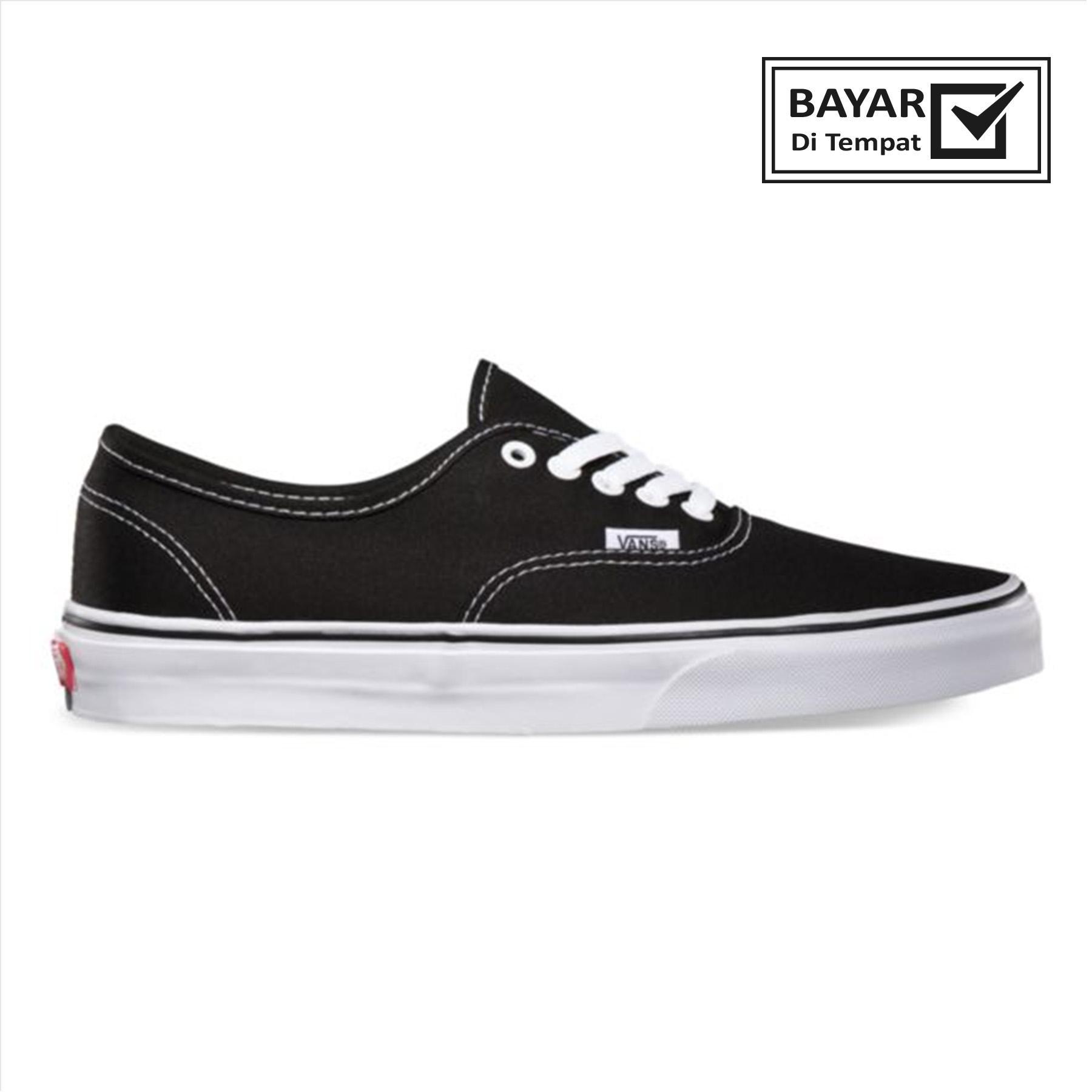 Sepatumurah88  Authetic California Hitam Putih Sneakers Casual Best Seller