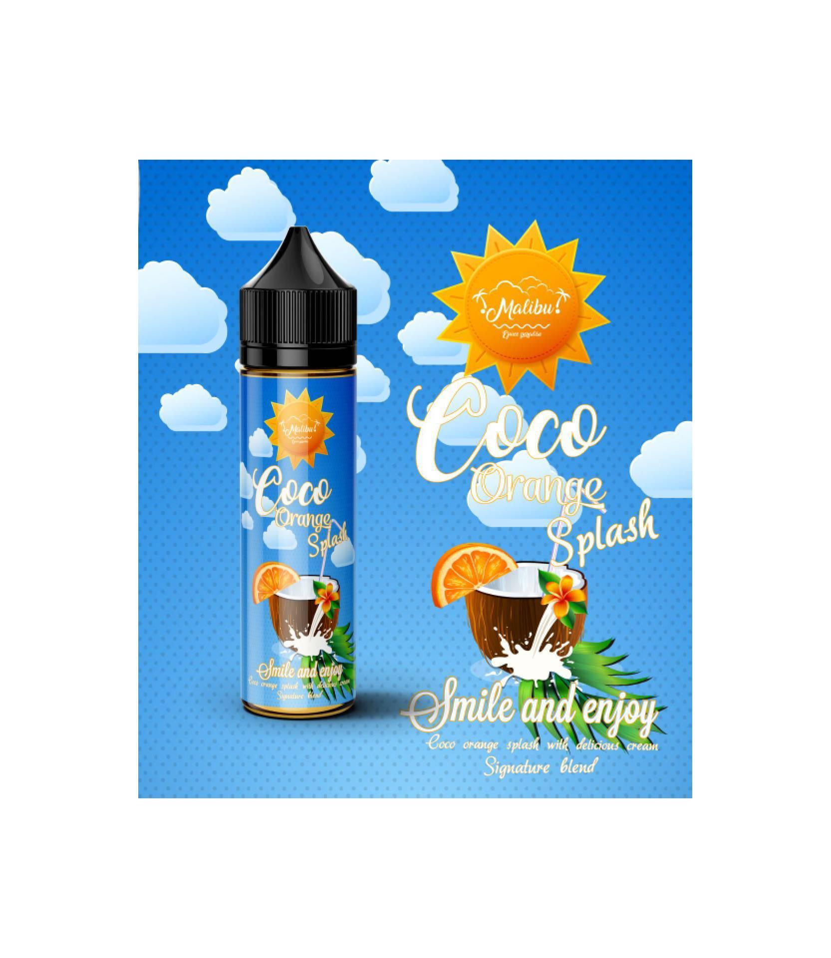 Buy Sell Cheapest 3 Lubang Coco Best Quality Product Deals Wrp Active Splash 350 Ml Bundle E Liquid Malibu Orange 60ml 3mg N 6mg