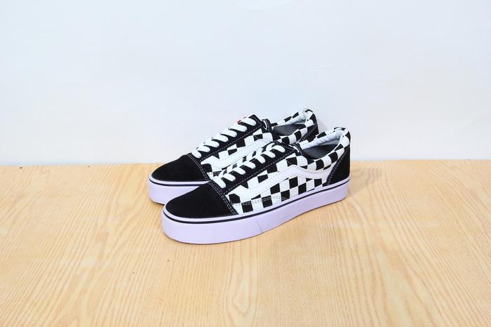 Sepatu Vans Old Skool Check Board/ Catur Premium Quality - VE42GS