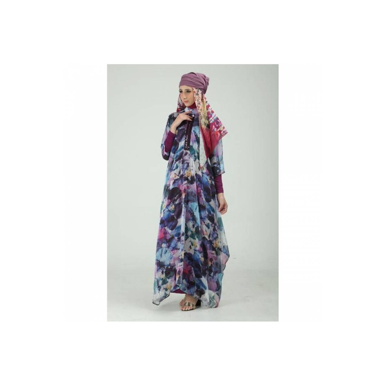 ZP0728/Hijab/Scarft/koko/dress/ Syabil Kaftan by Mezora