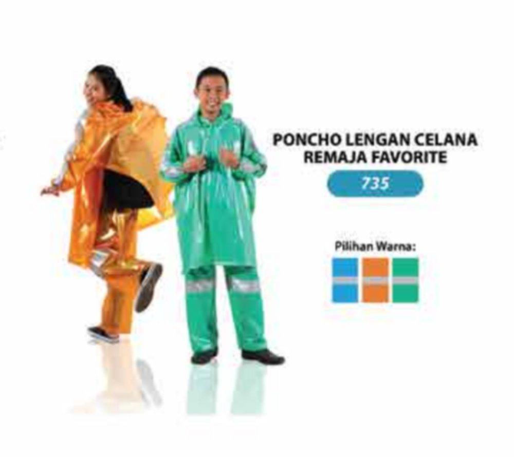 jas hujan poncho celana biru di lapak Depo Jas Hujan ljbandung