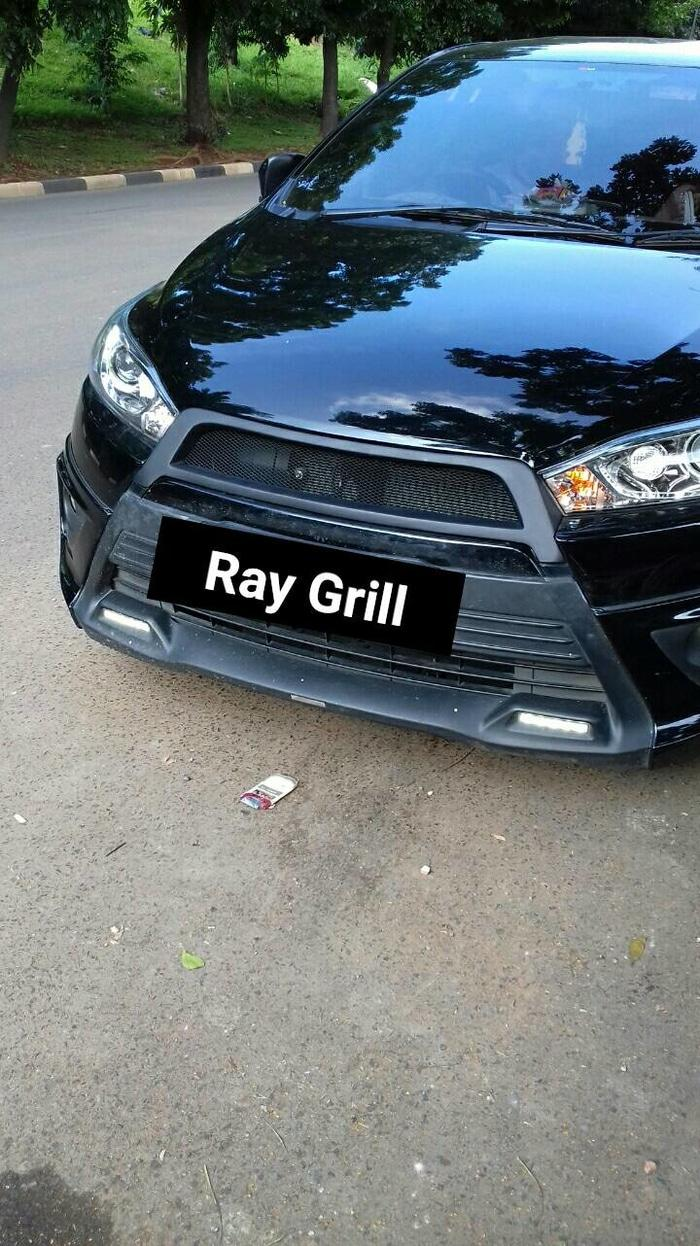 grill racing all new yaris